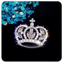Новое поступление роскошная блестящая брошь в виде короны с