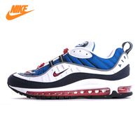 Nike Air Max OG 98 Gundam Men's Running Shoes,Original Sports Outdoor Sneakers Shoes, Blue, Non slip Breathable 640744 100