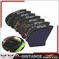 Motocicleta Tanque Lateral de Tracción Pad Gas Combustible Grip Rodilla Decal Para Kawasaki Ninja 650