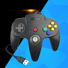 Wired USB Gamepad joystick for N64 Classic Game Controller joypad For Windows PC Mac Control цена 2017