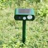 Ultrasonic Animal Chaser Repeller Cat Dog Fox Squirrel Deterrent Repellent Outdoor Garden Pest Repeller Solar Panel