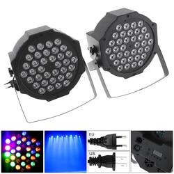 2 Pcs 36 LED Lampu Panggung RGB Efek Stroboscope Lampu Flash dengan Berdiri dan DMX Antarmuka untuk Disco/Panggung /Bar Efek