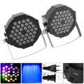 2 stücke 36 LEDs RGB Bühne Licht Wirkung Stroboskop Lampe mit Stand und DMX Interface für Disco/Bühne /Bar Wirkung-in Bühnen-Lichteffekt aus Licht & Beleuchtung bei