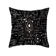 Topic Universe and science pillowcase black hole style throw pillow cases 45*45cm square shape home decorative pillow cover vintage style birds pattern square shape flax pillowcase without pillow inner