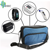 BMC New Arrivals Health Care Houseuse Bag Pulse Oximeter Fitness Tracker Blood Pressure Monitor and Thermometer Beauty Gift Pack