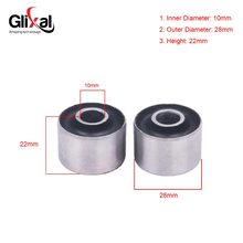 Glixal GY6 50cc 125cc 150cc Mesin Motor Mount Bushing untuk 139QMB 152QMI 157QMJ Cina Scooter Moped ATV Go-Kart(China)