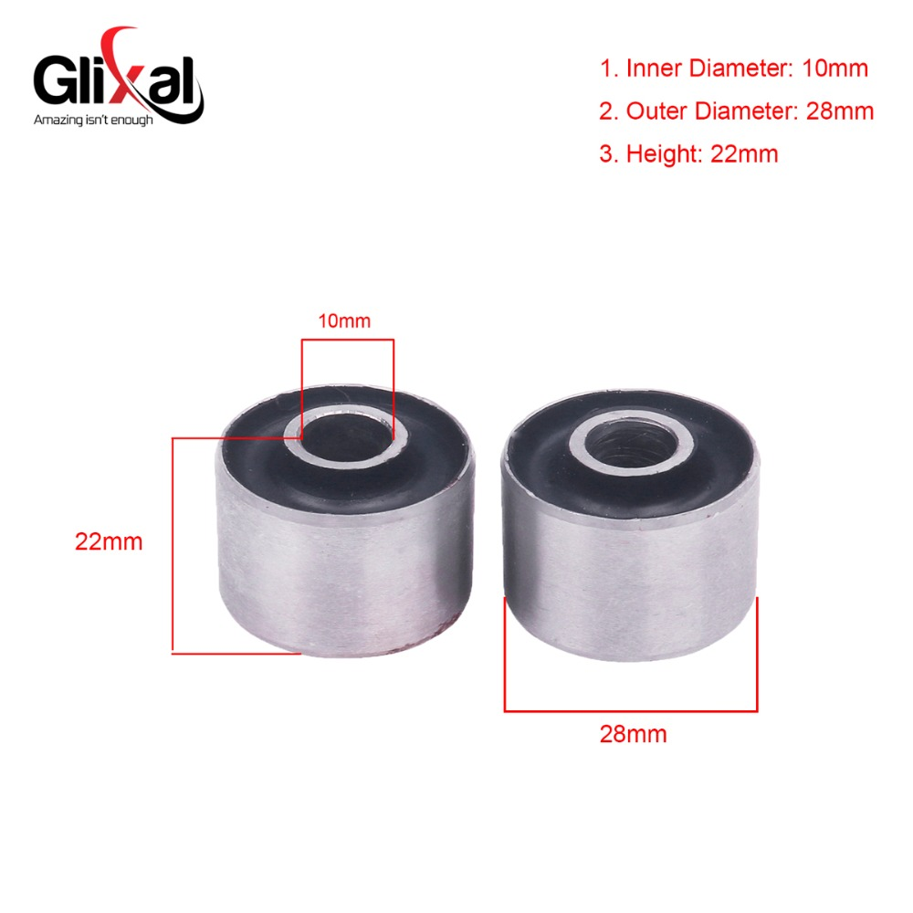 Glixal GY6 50cc <font><b>125cc</b></font> 150cc Engine <font><b>Motor</b></font> Mount Bushing for 139QMB 152QMI 157QMJ Chinese Scooter Moped ATV Go-Kart image
