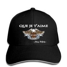 208386ca86e5f Baseball cap Détails sur casquettes de Baseball Johnny Hallyday Que Je  T'aime Standard Unisexe