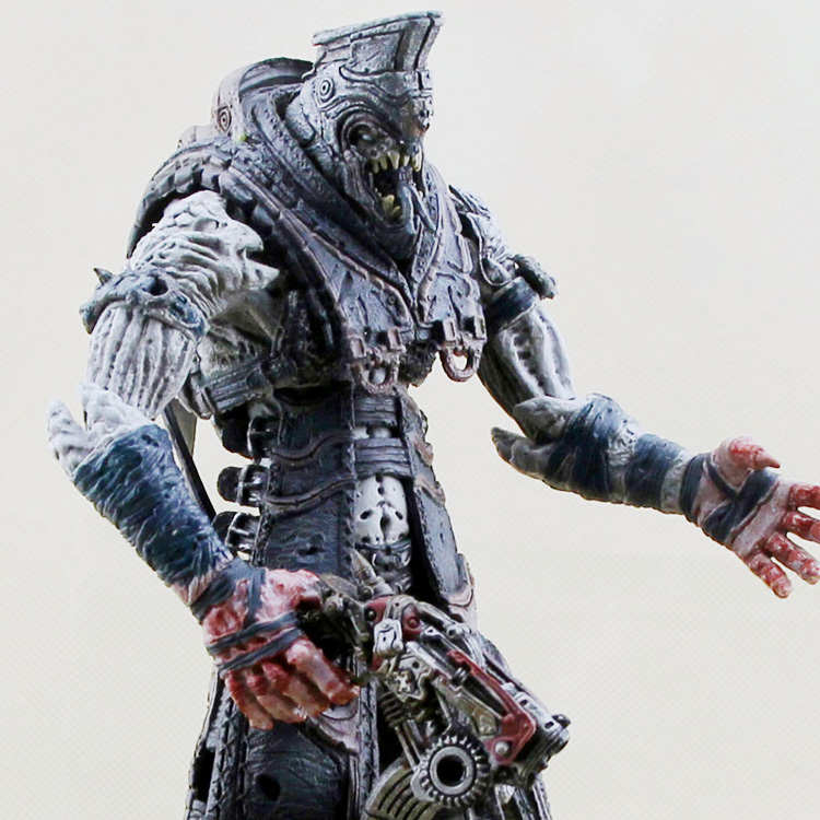 NECA gears of war 2 kantus 7 inches and moving my hand do bulk doll mode майка классическая printio gears of war 2