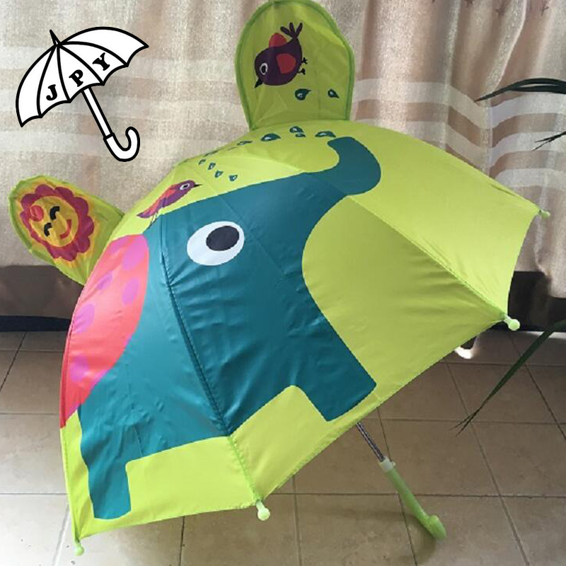 Barn Nydelige tegneserieparaplyer for barn Jente Parasolparaply - Husholdningsvarer