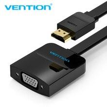 Vention HDMI TO VGA Adapter цифро-аналоговый видео аудио конвертер для кабеля 1080 P для Xbox 360 PS3 PS4 PC ноутбук ТВ окно проектора