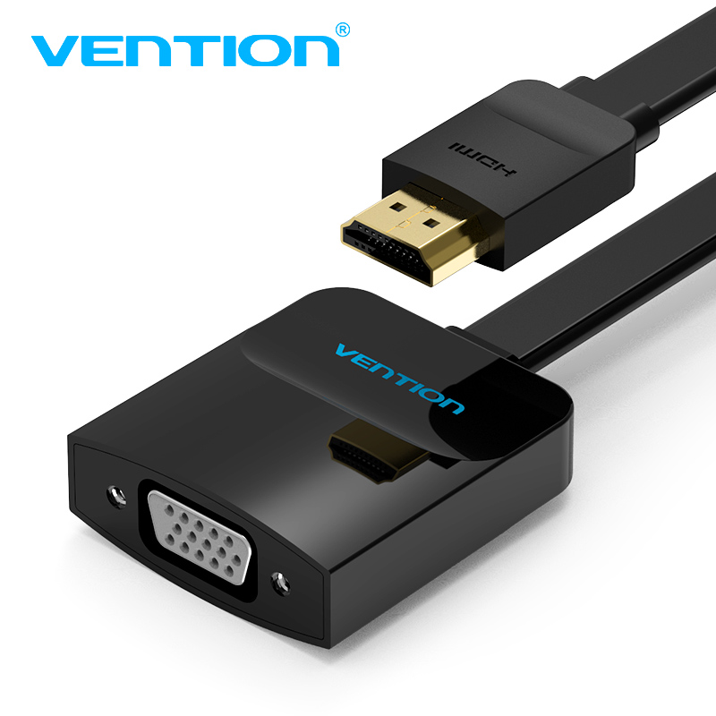 Vention HDMI para VGA adaptador de Vídeo Digital para Analógico Conversor De Áudio cabo 1080 p para PS3 PS4 Xbox 360 PC Box Laptop TV projetor