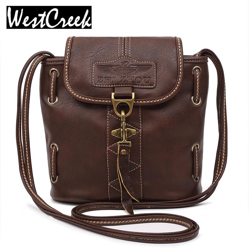 Prix pour Haute qualité femmes sacs à main pu sacs en cuir dames marque seau épaule sac vintage bandoulière sacs pour femmes