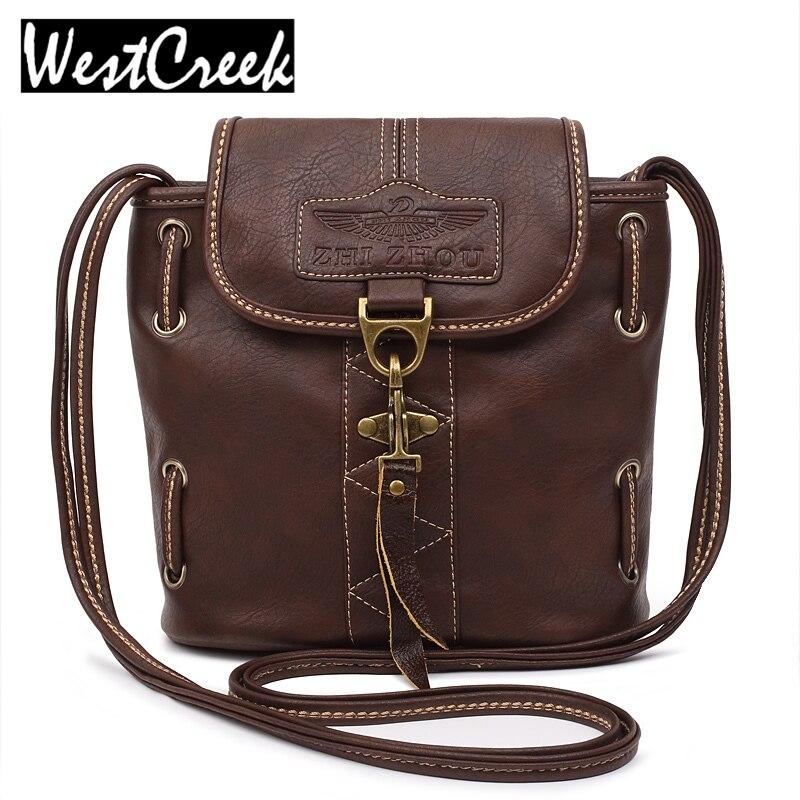 c7a6761b2321 High quality women handbags pu leather bags ladies brand bucket shoulder bag  vintage crossbody bags for women-in Shoulder Bags from Luggage   Bags