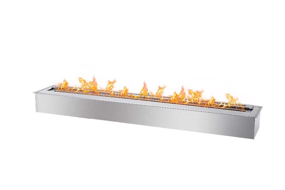 On Sale  Stainless Steel Ethanol Burner 48 Inch Indoor Fire Place