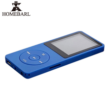 "HOMEBARL 1.8"" 4th LCD Slim MP4 Player 2GB 4GB 8GB Also With Micro SD Card/TF Card Slot Speaker Music Video Players New Update"
