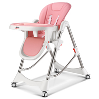 Baby diner chair child baby eat highchairs multi function portable can fold can sit dinette