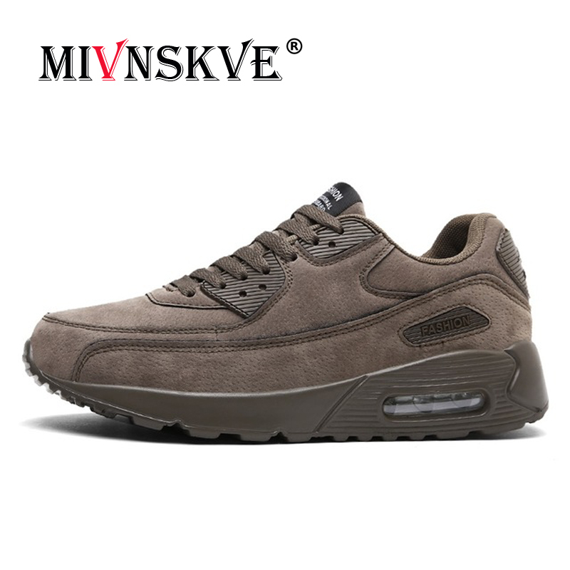 MIVNSKVE 2018 Spring summer Men Sport Shoe Mesh Breathable Running Shoes Male krasovki Lightweight Outdoor Walking Shoe Sneakers