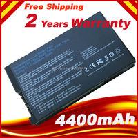 Batteria del computer portatile Per Asus X61 X61S X61W X61GX X61SL X61Z X80 X82 X83 X85 X85C X85L F8 F80 F80H F80A F80Q F80L F81 F83 F50 N80 N81