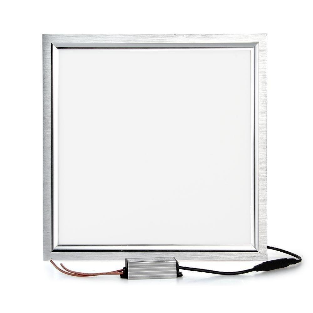 SXZM 8W 12W 18W LED paneļa gaisma 300x300 kvadrātveida lampada augsta spilgti iekštelpu griestu lampa balta / silta balta ūdensnecaurlaidīga vadītāja