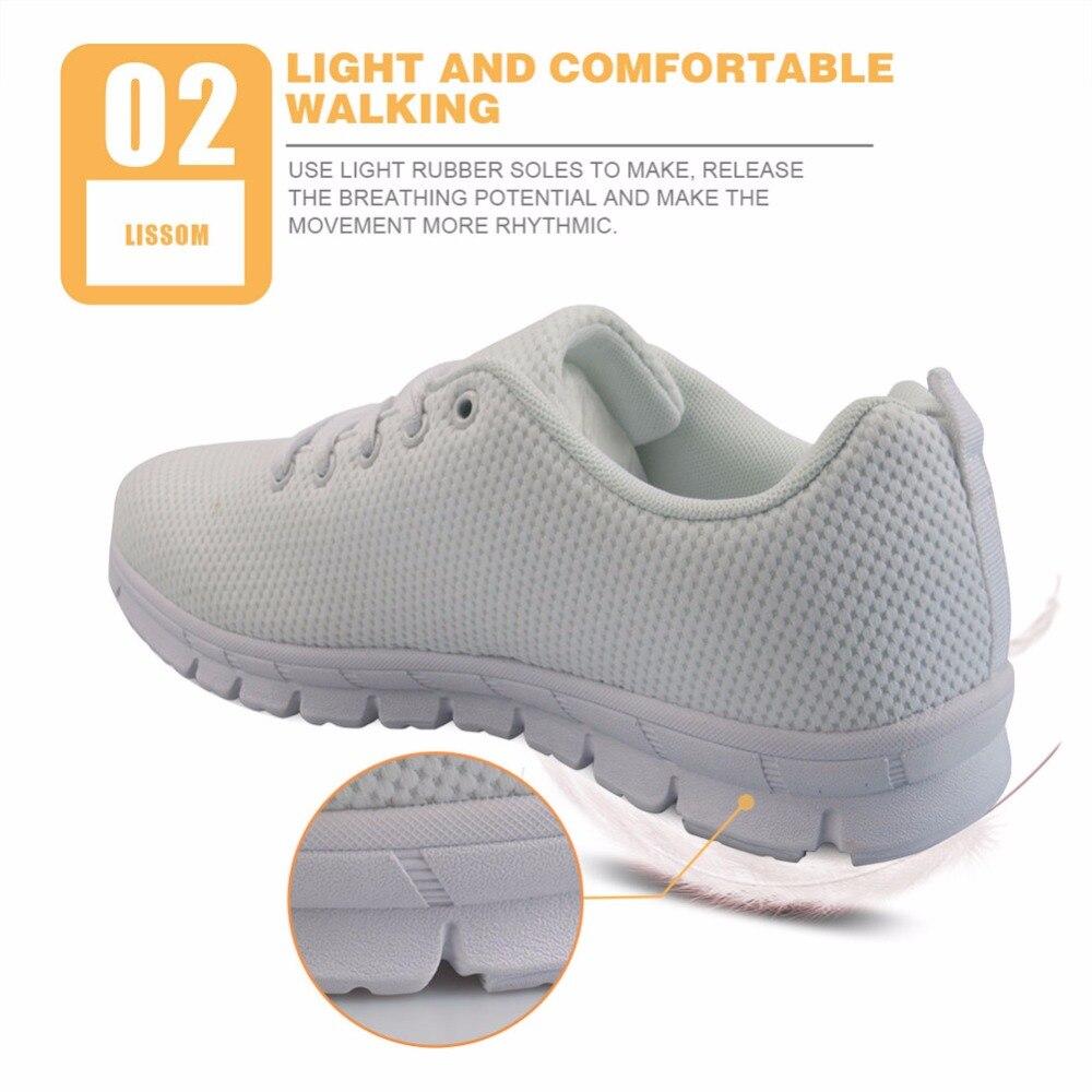 FORUDESIGNS 2018 primavera enfermera impresa zapatos planos mujeres - Zapatos de mujer - foto 3