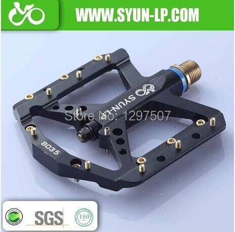 SYUN-LP алюминий средства ухода за кожей Супер легкий тонкий MTB BMX DH подпушка холм платформа велосипедные педали mtb педали запчасти велосипедов ...