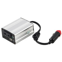 700 Вт Серебряный инвертирующий адаптер, автомобильный преобразователь 12 В до 110 В/220 В, входной автомобильный преобразователь питания, автомобильный блок питания, зарядное устройство