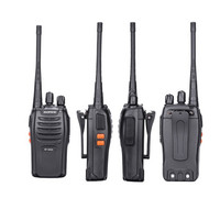 4PCS 100% Original Baofeng bf-666s Walkie Talkie Portable Radio Hotel Communicator Transceiver Cb Radio 666S 2-way Radio