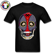 Mexico Sugar Skull Deadpool 3D T Shirts Kawaii Jigglypuff Dead Pool Printed On Tshirts Men Easter Monday Cool T-Shirt Man