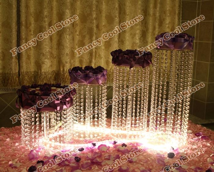 buy 4pcs conbination wedding cake stand. Black Bedroom Furniture Sets. Home Design Ideas