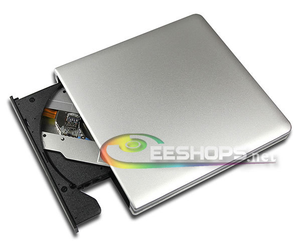USB 3.0 External Blu-ray Burner 6X 3D BD-RE DL 4X BDXL Recorder DVD RW Drive for Sony VAIO Ultrabook Laptop Silver Aluminum Case genuine for sony playstation 4 ps4 500gb console blu ray dvd drive kem 860aaa kes 860a 860 complete whole assembly replacement