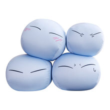 Cute Anime Tensei Shitara Slime Plush Toy Pillow Sofa Cushion Toys For Children Birthday present Xmas Gifts(China)