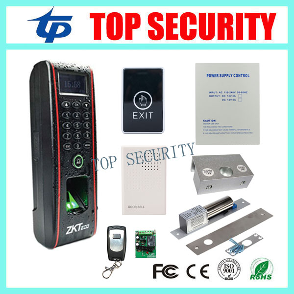 TF1700 biometric fingerprint access control system with RFID card reader TCP/IP fingerprint door access control with software