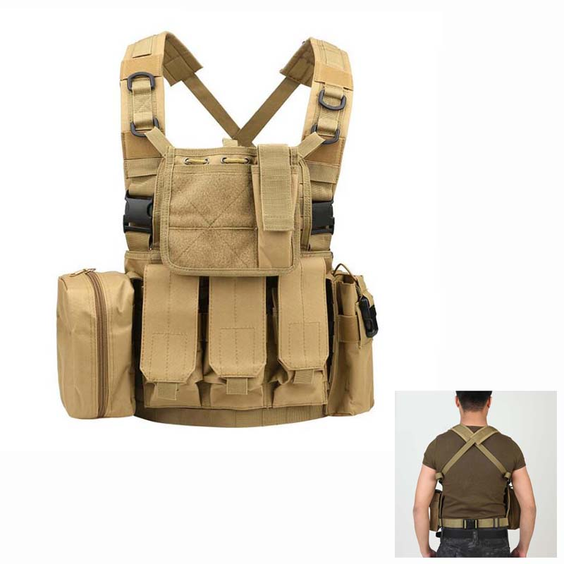 Outdoor Tactical Vests Military Equipment Paintball Army Hunting Vest Combat Airsoft Protective Vest Men For CS Wargame 7 Colors все цены