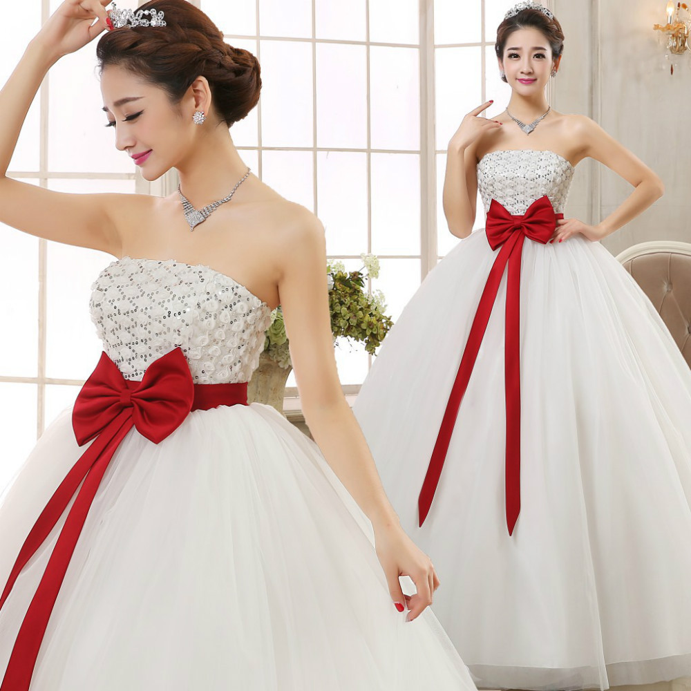 Hot New Latest Fashion High Large Size Korean Red Bow Maternity