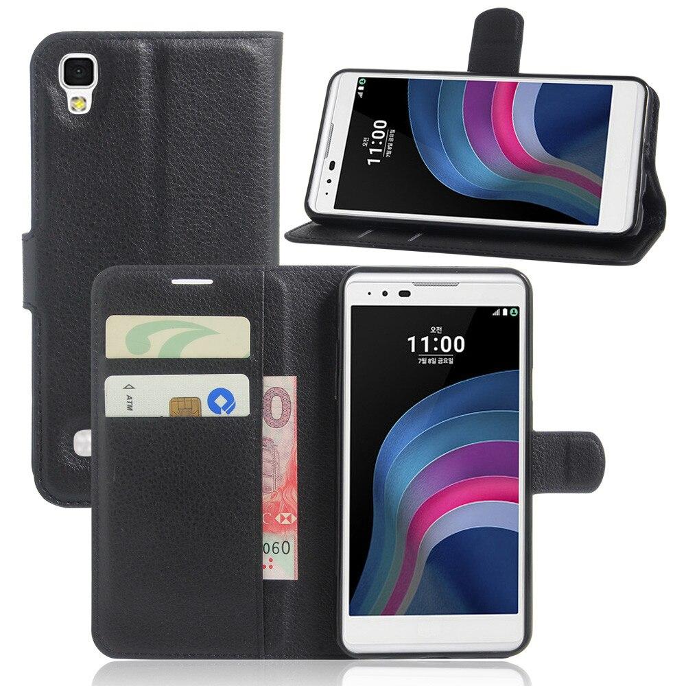 GFC caso para LG X Power K220DS XPower K220 caso cubierta de cuero del teléfono para LG X Power K210 K 210 220DS 220 ds caso