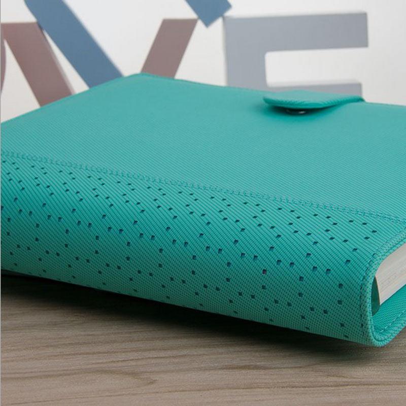 Uus Macaron õõnes PU nahast spiraal sülearvutid kirjatarbed, - Kaustikud ja kontoriraamatud - Foto 5