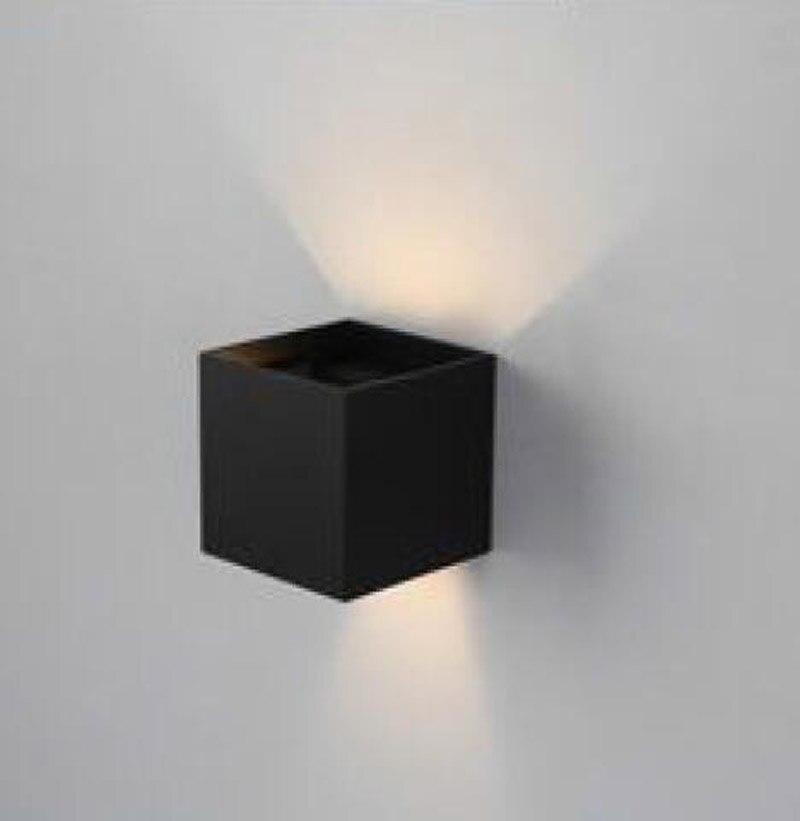 ФОТО T Wall lamp Fashion Modern Simple White Warm white Light For Home Bedroom Living Room Indoor Lighting