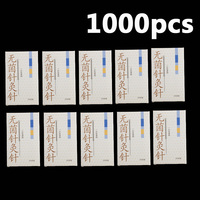 10boxes Of 100pcs Cloud Dragon Acupuncture Needles Non Needle Tubing Sterilization Package Version