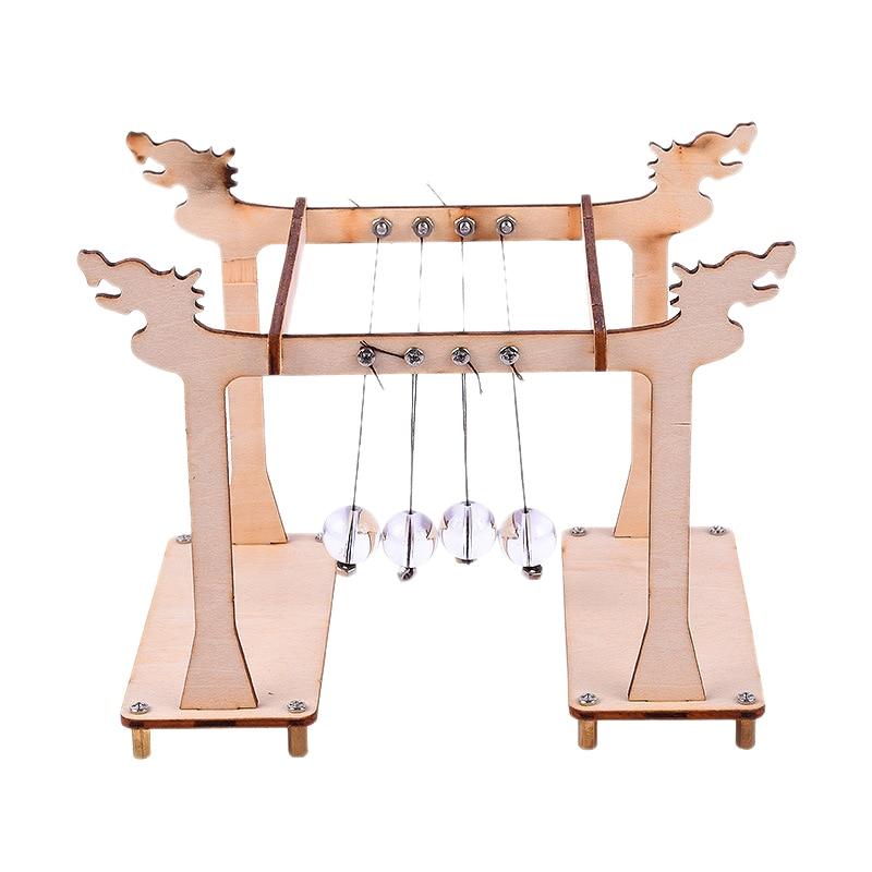Simple Pendulum Test Experiment Equipment,Physics Science Diy Material,Handmade Assembly Pendulums