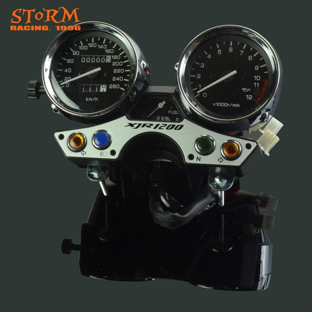 260 OEM Motorcycle Speedometer Tachometer Odometer Display Gauges For YAMAHA XJR 1200 XJR1200 1994 1995 1996 1997 кофры komine