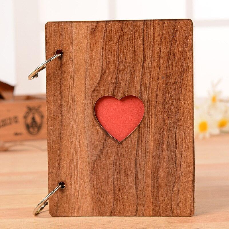 Neue 6 zoll Kreative Herz Holz Bilderrahmen Mode Graduation ...