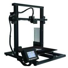 Tronxy XY-3 3D принтер I3 Мега большой плюс размер Полный металлический TFT сенсорный экран 3d принтер высокая точность 3D Drucker Impresora запчасти