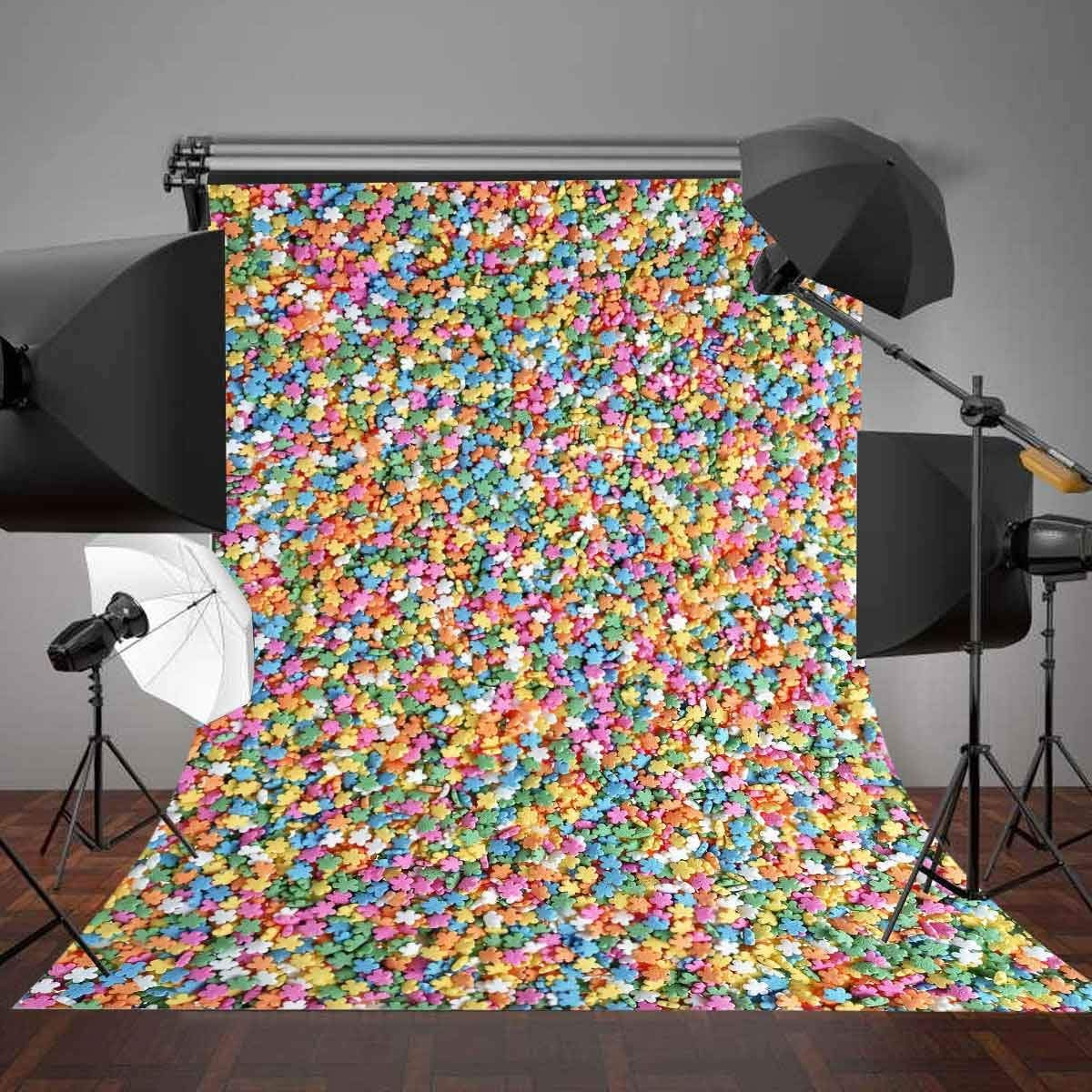 Image 5 - 5x7ft Colorful Stars Photography Backdrop Photo Studio Background Props-in Photo Studio Accessories from Consumer Electronics