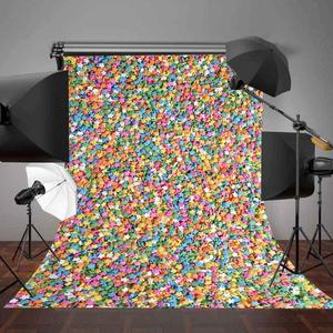 Image 5 - 5x7ft Colorful Stars Photography Backdrop Photo Studio Background Props