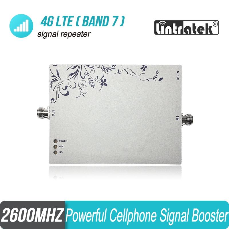 Lintratek 4G FDD 2600 mhz MGC/ALC/ISO amplificateur de Signal de téléphone portable 4G LTE 2600 amplificateur de répéteur de Signal de téléphone portable S33