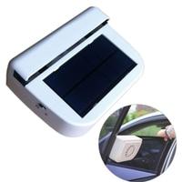 Solar sun Power Air Vehicle Radiator Car Fan Portable vent Auto Ventilator Cooler