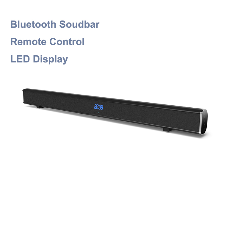 Samtronic 2.0ch 40W Wireless Soundbar with Bluetooth Super Bass Home Theatre System Speakers for TV Blutooth Soundbar System