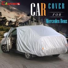 Cawanerl Крышка Автомобиля Купе Седан Универсал Вс Дождь Снег Защитная Крышка для Mercedes-Benz E320 E350 E420 E430 E500 E250D E300D E260L
