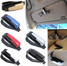 Car Accessories Sunglasses Glasses Card Pen Holder Clip Drop shipping